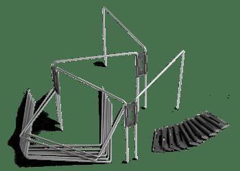 Kit de délimitation jardin pour robot tondeuse